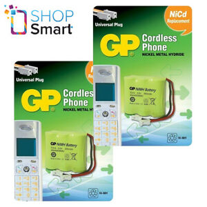 2 gp T314 Sans Chargeur Téléphone Batterie Nickel-Hydrure Universel