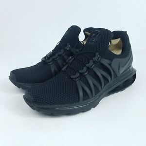 NIKE Shox Gravity Mens Sz 9 Shoes Black AR1999 001