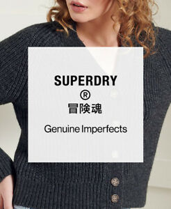 Superdry Womens Factory Second Cardigan - Lucky Dip