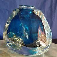 Trés Beau Vase Fond Marin (Murano)