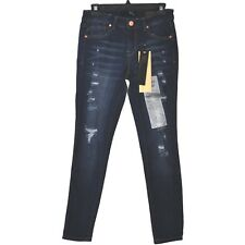 1822 DENIM Skinny Jeans Destructed Ankle Mid Rise size 28 inseam 27 NWT