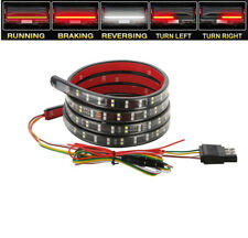 "60"" Truck LED Tailgate Light Strip Turn Signal Brake Reverse Driving Light Lamp"