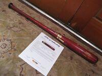 Pablo Sandoval Game Used Heavy Use Tucci Baseball Bat PSA Certified