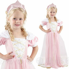 GIRLS TODDLER SLEEPING PRINCESS FANCY DRESS COSTUME OUTFIT BEAUTY QUEEN CHILDS