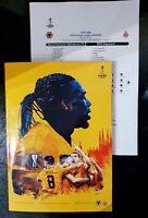 Wolverhampton Wanderers V Espanyol Europa League Programme & Team Sheet