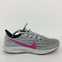 Nike Air Zoom Pegasus 36 Grey Textile Trainer Sneaker AQ2203-607 Men UK 9 Eur 44