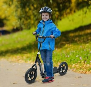 """= Teen Push Scooter Kids Stunt Scooter Bike Bicycle Ride On 12"""" Tyres 38:21"""