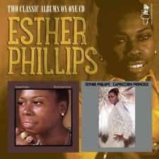 ESTHER PHILLIPS Black-Eyed Blues / Capricorn Princess NEW SOUL CD (SOUL BROTHER