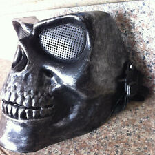 Sliver Halloween Skeleton Masks Face Tactical Military Masque Costume Mask