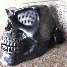 Sliver Halloween Skeleton Masks Face Tactical Military Masque Costume Mask