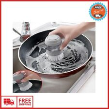 Automatic Liquid Cleaning Brush For Dishwashing Non-stick Oil Kitchen Supplies