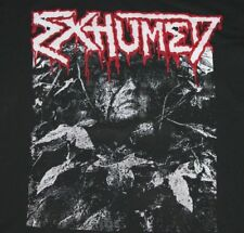 XL * vtg 90s EXHUMED t shirt * death metal gore grind black * 59.153