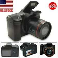 Digital SLR Camera 3 Inch TFT LCD Screen Anti-shake HD 16MP 1080P 16X Zoom US