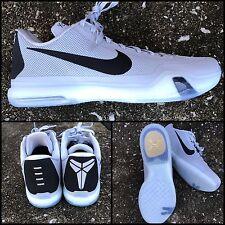 "New! Men Nike Kobe X 10 TB Low ""Cool Grey"" Player PE 813030-011 KD Black   16"