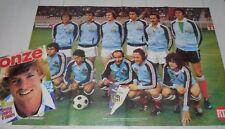 FOOTBALL ONZE N°33 1978 SECB REP FRANCE DEDICACES NANCY ASNL RC STRASBOURG ALVES
