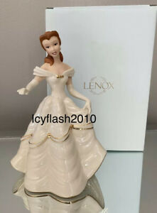 Lenox Disney Showcase Collection Belle Beauty and The Beast My hand My Heart