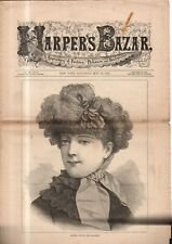 1882 Harper's Bazar May 13 - Parasols, bonnets, Spring costumes; Mecca; Watch