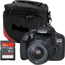 Canon EOS 1300D - EF-S 18-55mm DCIII Spiegelreflexkamera  Paket 8