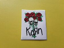 Korn Patch Embroidered Iron On Or Sew On Badge