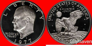 1977 S Eisenhower Dollar Gem Proof No Reserve