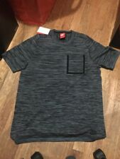 Nike Tech Knit Pocket T Shirt 'Black, Hasta & Cannon' Size M (729397 013)