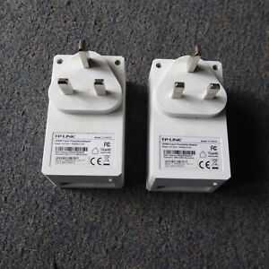 Pair of TP Link 3 Port Powerline Adapter 600Mbps TL-PA6030