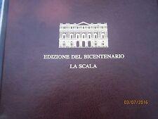 LP Teatro alla Scala bicentenario cofanetto 6 lp.