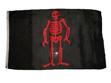 3x5 Jolly Roger Pirate Edward Low Premium Quality Flag 3'x5' Banner Grommets