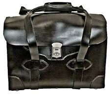 Flight Pilot All Leather Case, Lawyer's Messenger Bag, Briefcase, Attache