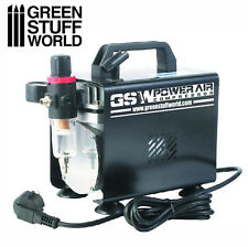 Airbrush Compressor - Hobby Tools, Paint, Miniatures, Modelling, GSW, Warhammer