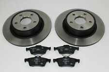 Original Brake Discs + Brake Pads Rear Ford Focus MK3 1704765+ 1809458