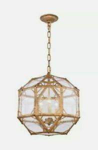Elegant Lighting 1514D14GI Gordon Pendant Golden Iron