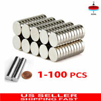 Lot 10 x 3mm Magnets  N35 Round Disc Rare Earth Neodymium Super Strong 1-100 Pcs
