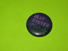 "Vintage 80'S Blue Oyster Cult 1"" Badge Button Pinback Rock"