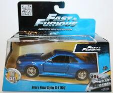 Jada 1/32 Scale 97185 Fast & Furious - Brian's Nissan Skyline GT-R R34 - Blue