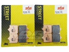 Swm Sm 450 R 2015 + SBS Street Pastiglie Freno Anteriore Sinterizzate 762HS