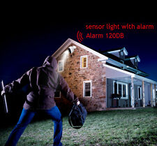 Home Security Light -  Remote Security PIR Sensor light with Alarm - IP44 Rated
