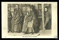 Tibet rppc Grand Lama of Rongbuk Monastery Dzarong 30s