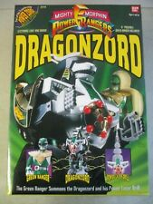 VINTAGE 1993 POWER RANGERS DRAGONZORD WITH GREEN RANGER MIB SEALED BANDAI 2270