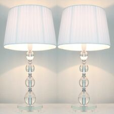 STOCK CLEARANCE SALE - PAIR of NEW Bedside Table LAMPS C DESCRIPTION FOR DETAILS