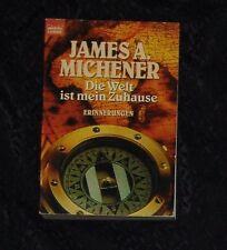DIE WELT IST MEIN ZUHAUS James A Michener TOP TB 1997 1x gelesen Nichtraucherex.