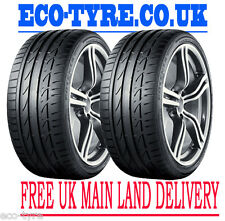 2X Tyres 215 40 R17 87W XL Bridgestone Potenza S001 AO Audi F B 71dB