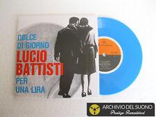 """LUCIO BATTISTI Dolce di giorno/Per una lira (1966) Vinyl 7"""" Coloured release2018"""