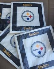 Pittsburgh Steelers Lot Of 27 Pack Luncheon Napkins