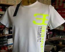T-shirt Maglia Uomo Papeete Manica corta Girocollo con Stampa Logo Art Pap2331 Bianco XL