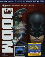 Justice League: Doom [2 Discs] [Blu-ray/ (2012, REGION A Blu-ray New) BLU-RAY/WS