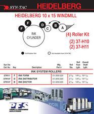 Heidelberg Windmill Syn-Tac (4)Ink roller kit 10x15