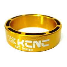 gobike88 KCNC Hollow Design Headset Spacer, 10mm, Gold, Made in Taiwan, 645
