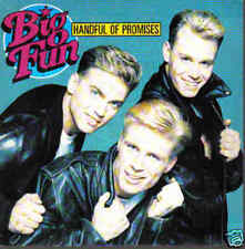 BIG FUN-HANDFUL OF PROMISES SINGLE VINILO 1990 SPAIN