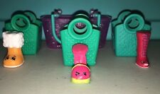 Shopkins Season 3 Retired Lot of 3 Shoes - Common & Rare with Baskets
